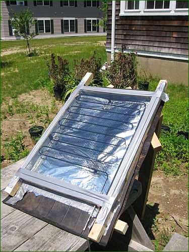 Fabriquer Un Panneau Solaire Thermique Pour Moins De  Euros  Inspir