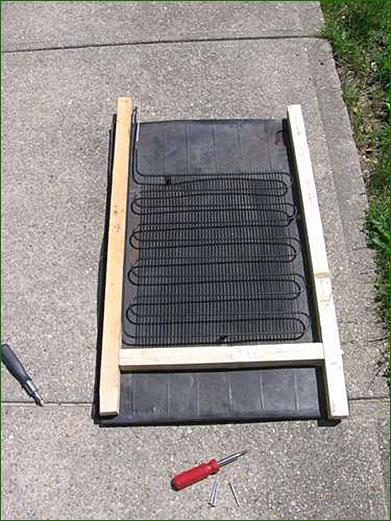fabriquer un panneau solaire thermique pour moins de 5 euros inspir. Black Bedroom Furniture Sets. Home Design Ideas